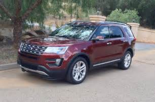 2016 ford explorer drive review photo gallery