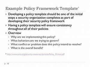 security policy forensics and incident response legal With security policy framework template