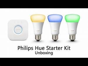 Hue Starter Kit : philips hue starter kit unboxing 3rd generation youtube ~ Orissabook.com Haus und Dekorationen