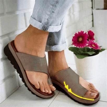 Shoes Platform Sandals Toe Bunion Sandal Comfy