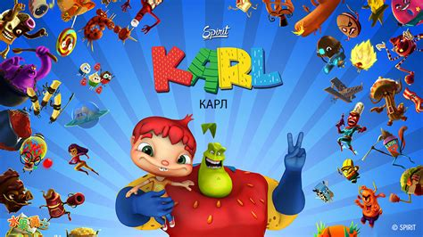 karl animated series world content market
