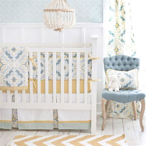 gold crib bedding sets starburst in gold crib bedding set by new arrivals inc