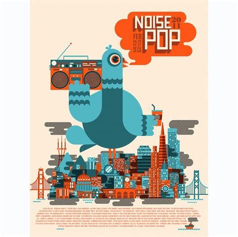 Illustrated Poster Design Inspiration For Events