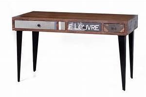 Schreibtisch Online Bestellen : schreibtisch wood textile materialmix versandkostenfreie m bel online ~ Indierocktalk.com Haus und Dekorationen