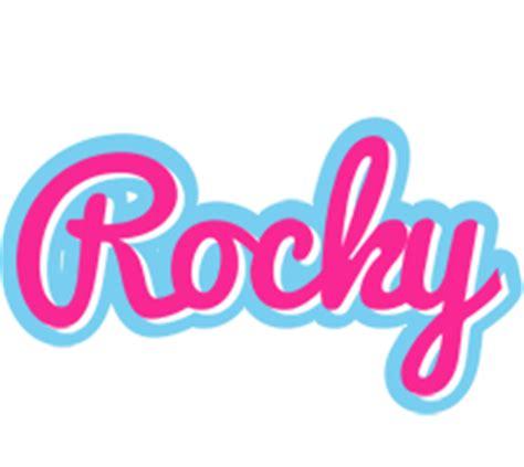 rocky logo  logo generator popstar love panda