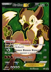 birdfox ex pokemon card