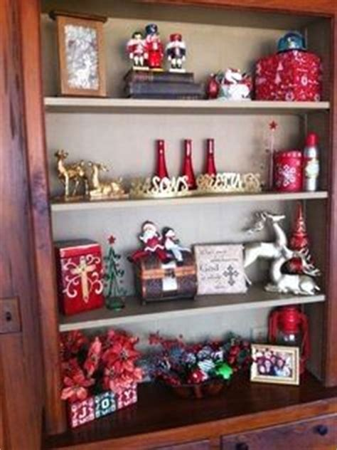 bookcase christmas decorating ideas 1000 images about christmas bookcase decor ideas on