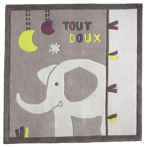 chambre india sauthon india tapis carré gris de sauthon baby déco tapis aubert
