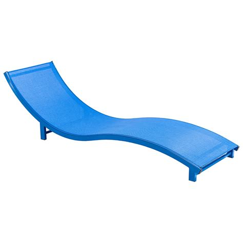 aqua sling pool furniture chaise lounges hotel pool