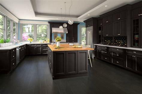 kitchens with espresso cabinets cool espresso kitchen cabinets 6616