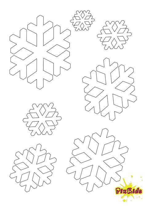 ausmalbild schneeflocke kostenlose malvorlage