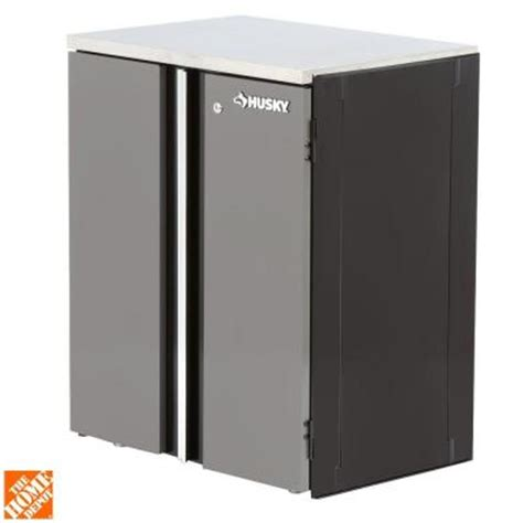 home depot husky cabinet husky 27 in 2 door base cabinet 27bc201bp thd the home