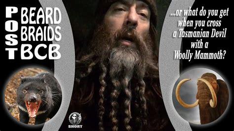 bcb short beard braid styling youtube
