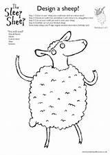 Sheep Worksheet Lamb Worksheets Preschool Patterns Stitchery Embroidery Weasels Sketchbook Measles Shaw Hannah Career sketch template