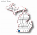 Cass County Michigan Maps