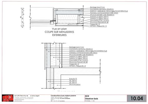 fenetre bandeau cuisine construction d 39 une maison passive minergie p à cruseilles