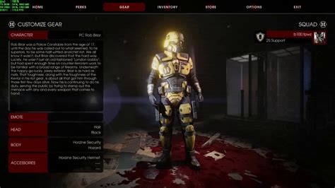 killing floor 2 all cosmetics killing floor 2 horzine mark 7 suit hazard youtube