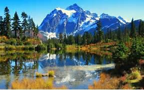 Beautiful Lake Scenery...Beautiful Nature Scenery Wallpapers