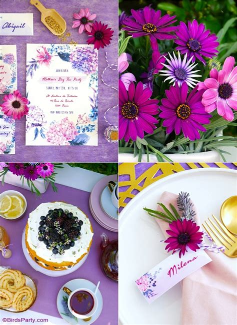 Celebrate Mothers Day Pretty Luncheon by A Lavender Tea And Tablescape For S Day