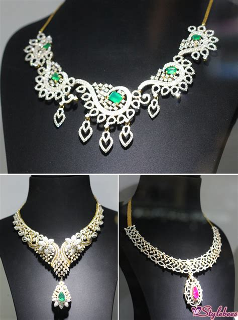 Loved Scintillating Collection At Kalyan Jewellers. Key Holder Necklace. Mermaid Melody Necklace. Glow Necklace. Meenakari Necklace. Butterfly Necklace. Red Bead Necklace. Military Necklace. Audrey Necklace