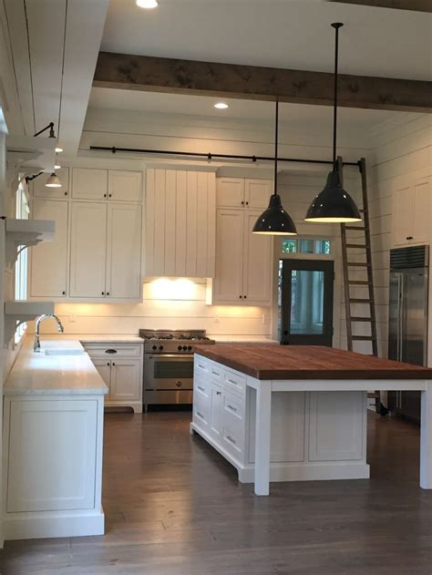 above kitchen sink lighting beams pendants shiplap island lights above the sink 3967