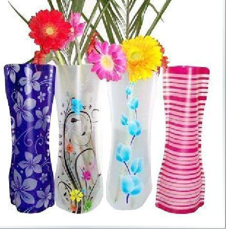 collapsible flower vase flower pots planters vaso home furnishings collapsible
