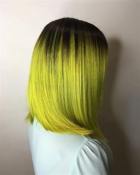 Black And Yellow Hair Color by 30 Black Ombre Hair Color Ideas That You Will Like April