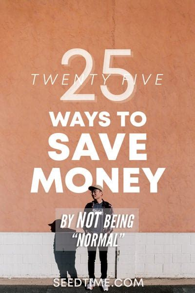 25 Top Ways To Save Money (for 2018)  Seedtime Howldb
