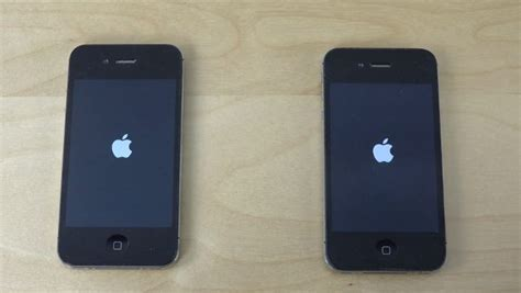 iphone 4 ios 8 iphone 4s on ios 8 4 vs ios 8 3 bootup speeds compared