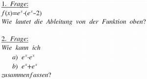 Binomialkoeffizienten Berechnen : e funktionen ableiten und zusammenfassen wie geht das ~ Themetempest.com Abrechnung