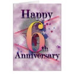 6th wedding anniversary gifts 6th anniversary gifts t shirts posters other gift ideas zazzle