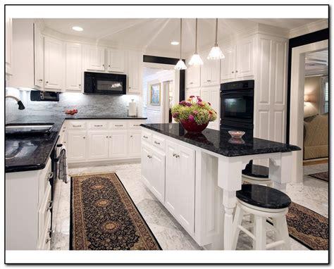 white kitchen cabinets with dark countertops kitchen with black countertops for elegant design home