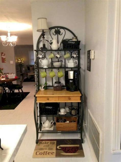 Below are 30+ of our favorite small kitchen coffee bar ideas that are sure to give you inspiration and below are some fantastic coffee area pictures and design ideas that really helped me set up my own. 25+ DIY Coffee Bar Ideas for Your Home (Stunning Pictures)