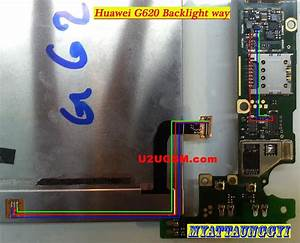 Huawei Ascend G620 Cell Phone Screen Repair Light Problem