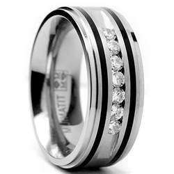 mens gold and silver wedding bands ngagement rings finger mens engagement rings overstock