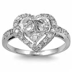 heart shaped engagement rings for women With heart shaped wedding rings for women