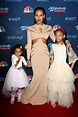 Mel B's cheeky daughters steal the show at American's Got ...