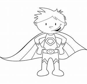 Coloring, Clipart, For, Girl, Superheros, 20, Free, Cliparts
