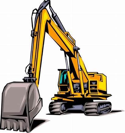 Equipment Clip Construction Clipart Heavy Excavation Business