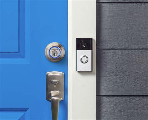 kevo door lock ring doorbell and kwikset kevo smart lock now work