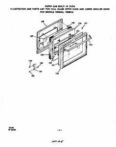 Roper 1053b1a Gas Wall Oven Parts