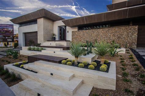 new american home contemporary landscape las vegas