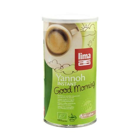 Lima ekologiskt Yannoh instant Good Morning kornkaffe - nu3