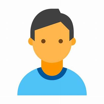 Person Icon Vector Icons Male Flat Monster