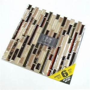 Smart Tiles Bellagio Keystone 10.06 in. W x 10.00 in. H ...