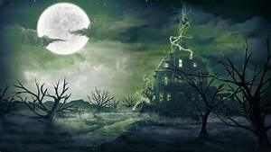 Haunted Background Wallpaper