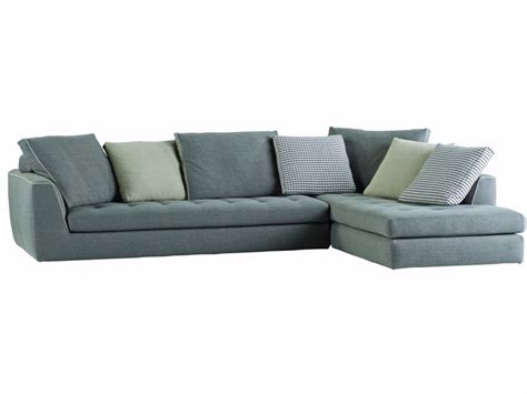 Corner Fabric Sofa With Removable Cover Urban By Roche