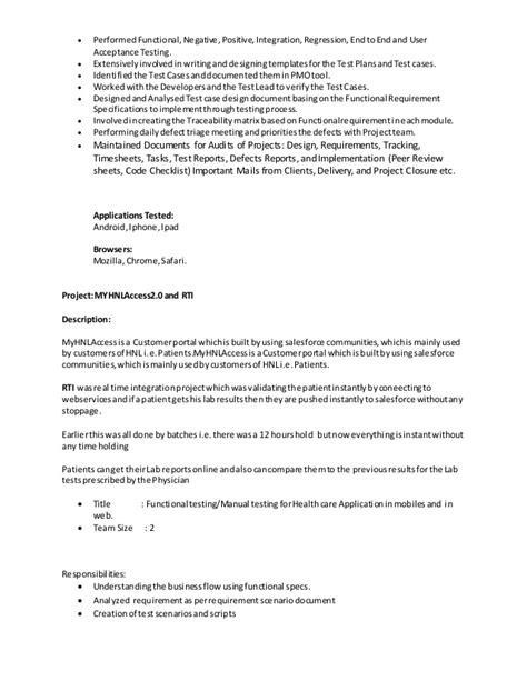 salesforce resume resume ideas