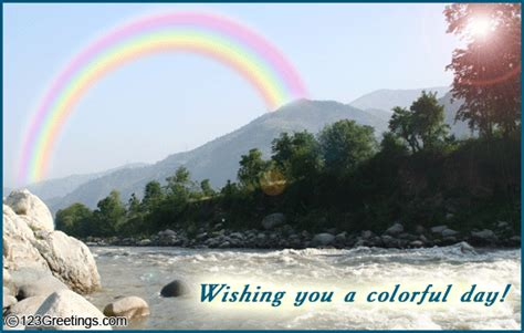 colorful day    great day ecards