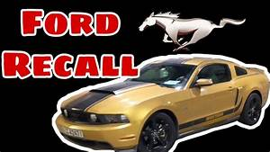 FORD RECALL 2019 | MUSTANG GT - YouTube